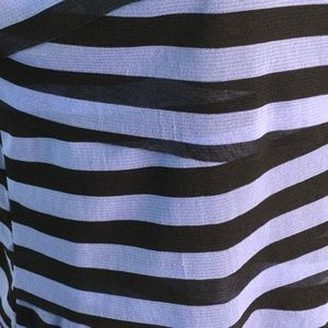 Dana Buchman Tops - Dana Buchman Blouse Tank Layered Blue Black Size L